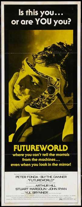 Futureworld - 14 x 36 Movie Poster - Insert Style B