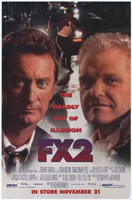 FX 2: The Deadly Art of Illusion - 11 x 17 Movie Poster - Style A