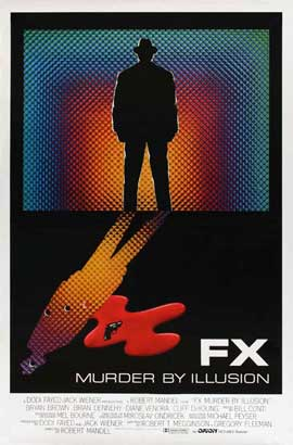 FX Murder By Illusion - 27 x 40 Movie Poster - UK Style A