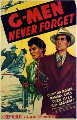 G-Men Never Forget - 11 x 17 Movie Poster - Style A
