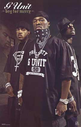 G Unit - 11 x 17 Music Poster - Style A