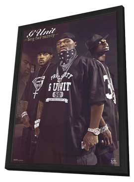 G Unit - 11 x 17 Music Poster - Style A - in Deluxe Wood Frame
