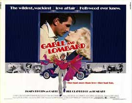 Gable and Lombard - 11 x 14 Movie Poster - Style A