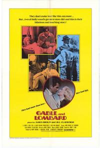 Gable and Lombard - 11 x 17 Movie Poster - Style B