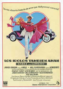 Gable and Lombard - 27 x 40 Movie Poster - Spanish Style A