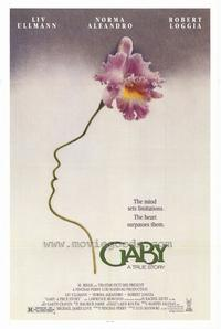 Gaby: A True Story - 27 x 40 Movie Poster - Style A
