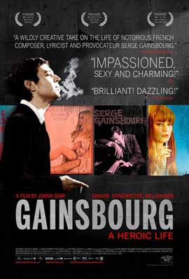 Gainsbourg (Vie heroique) - 11 x 17 Movie Poster - Style A