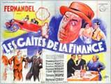 Gaites de la Finance, Les - 27 x 40 Movie Poster - French Style B