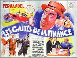 Gaites de la Finance, Les - 11 x 17 Movie Poster - French Style B