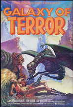 Galaxy of Terror - 27 x 40 Movie Poster - Style B