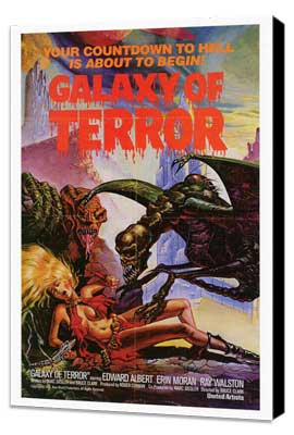 Galaxy of Terror - 27 x 40 Movie Poster - Style A - Museum Wrapped Canvas