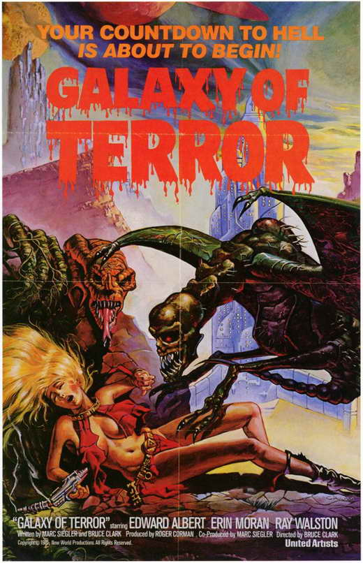 Movie terror view