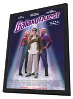 Galaxy Quest - 11 x 17 Movie Poster - Style C - in Deluxe Wood Frame