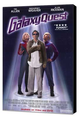 Galaxy Quest - 27 x 40 Movie Poster - Style B - Museum Wrapped Canvas