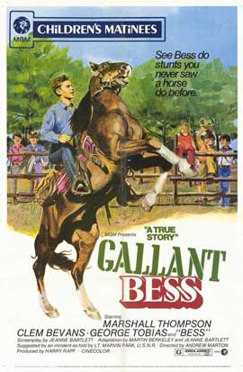 Gallant Bess - 11 x 17 Movie Poster - Style A