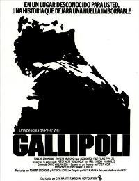 Gallipoli - 11 x 17 Movie Poster - Spanish Style A