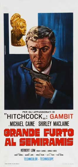 Gambit - 13 x 28 Movie Poster - Italian Style A