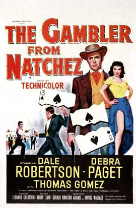 Gambler from Natchez - 11 x 17 Movie Poster - Style A