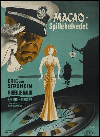 Gambling Hell - 43 x 62 Movie Poster - Danish Style A