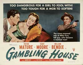 Gambling House - 22 x 28 Movie Poster - Half Sheet Style A