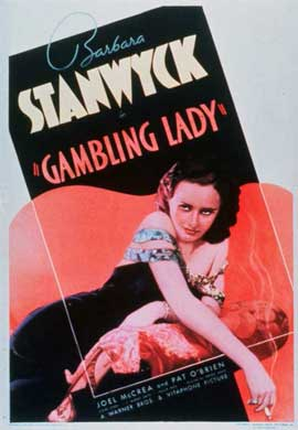Gambling Lady - 11 x 17 Movie Poster - Style A