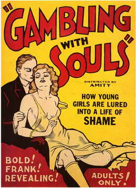 Gambling With Souls - 11 x 17 Movie Poster - Style A
