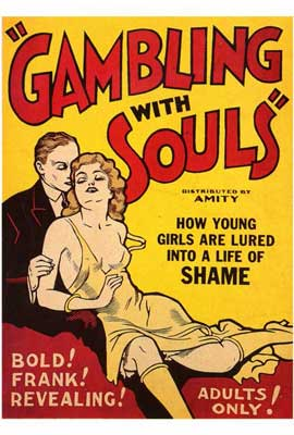 Gambling With Souls - 27 x 40 Movie Poster - Style A