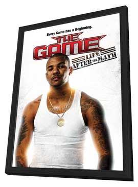 Game: Life After the Math - 27 x 40 Movie Poster - Style A - in Deluxe Wood Frame