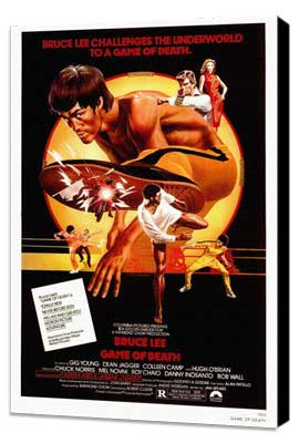 Game of Death - 27 x 40 Movie Poster - Style A - Museum Wrapped Canvas