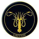 Game of Thrones (TV) - House of Greyjoy Embroidered Patch