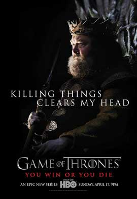 Game of Thrones (TV) - 27 x 40 TV Poster - Style C
