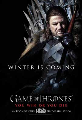 Game of Thrones (TV) - 27 x 40 TV Poster - Style D