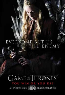 Game of Thrones (TV) - 43 x 62 TV Poster - Style E