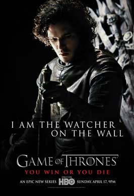 Game of Thrones (TV) - 43 x 62 TV Poster - Style F