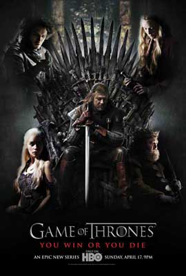 Game of Thrones (TV) - 11 x 17 TV Poster - Style G