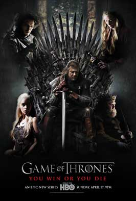 Game of Thrones (TV) - 43 x 62 TV Poster - Style G