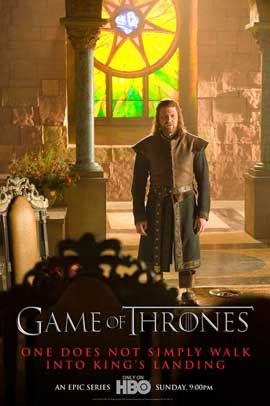 Game of Thrones (TV) - 11 x 17 TV Poster - Style H