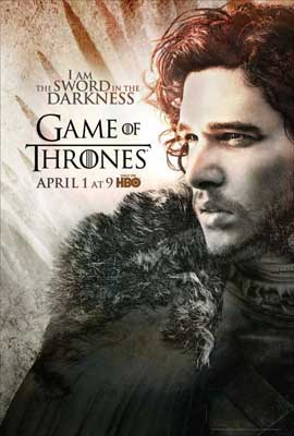 Game of Thrones (TV) - 27 x 40 TV Poster - Style K