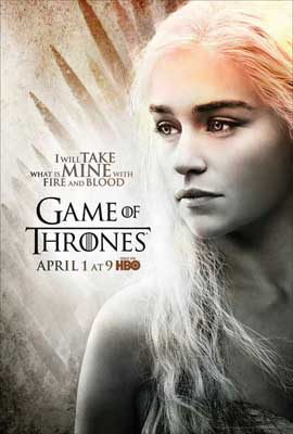 Game of Thrones (TV) - 27 x 40 TV Poster - Style L