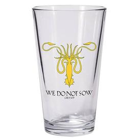 Game of Thrones (TV) - Greyjoy Sigil Kraken Symbol Pint Glass