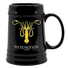 Game of Thrones (TV) - Greyjoy Sigil Kraken Symbol Ceramic Stein