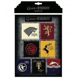 Game of Thrones (TV) - House Magnet Set