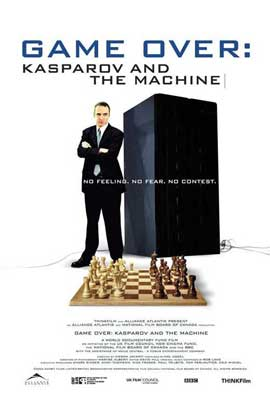 Game Over: Kasparov and the Machine - 27 x 40 Movie Poster - Style A