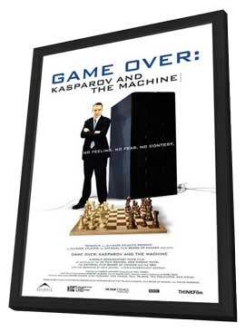 Game Over: Kasparov and the Machine - 27 x 40 Movie Poster - Style A - in Deluxe Wood Frame