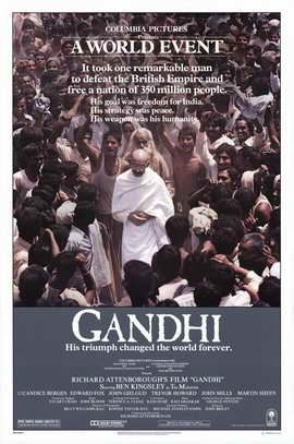 Gandhi - 11 x 17 Movie Poster - Style A