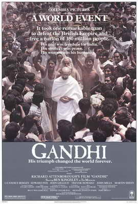 Gandhi - 27 x 40 Movie Poster - Style A
