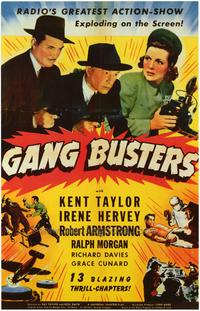 Gang Busters - 43 x 62 Movie Poster - Bus Shelter Style A