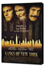 Gangs of New York - 11 x 17 Movie Poster - Style A - Museum Wrapped Canvas