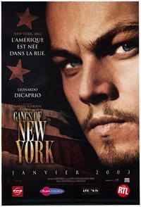 Gangs of New York - 30 x 40 Movie Poster - French Style A