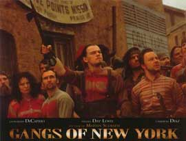 Gangs of New York - 11 x 14 Poster French Style A